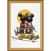 Disney Framed Giclee Canvas - Charles Boyer - Puppy Love