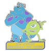Disney Monsters University Pin - Mike & Sulley - We Scare We Care