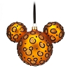 Disney Holiday Ornament - Mickey Ears Large - Glitter Cheetah