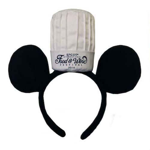 Disney Hat Ear Headband Food And Wine Festival Chef