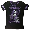 Disney Womens Shirt - Nightmare Before Christmas - Jack Skellington