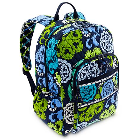 Disney Vera Bradley Bag - Where s Mickey - Campus Backpack
