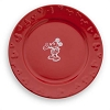 Disney Dinner Plate - Gourmet Mickey Mouse Icon - Red
