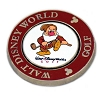 Disney Golf Ball Marker - Palm - Magnolia - Grumpy - Brown