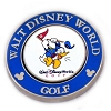 Disney Golf Ball Marker - Palm - Magnolia - Donald - Blue