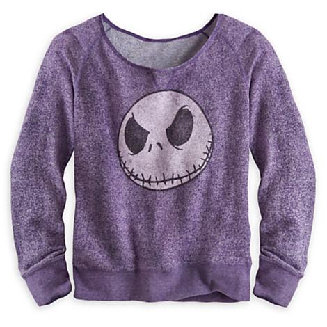 Disney WOMENS Shirt - Nightmare Before Christmas - Long Sleeve