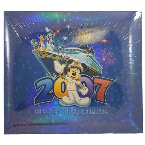 Disney Scrapbook Album - Cruise Line - 2007 Disney Cruise Line