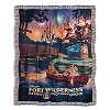 Disney Throw Blanket - Fort Wilderness Campground - Chip n' Dale