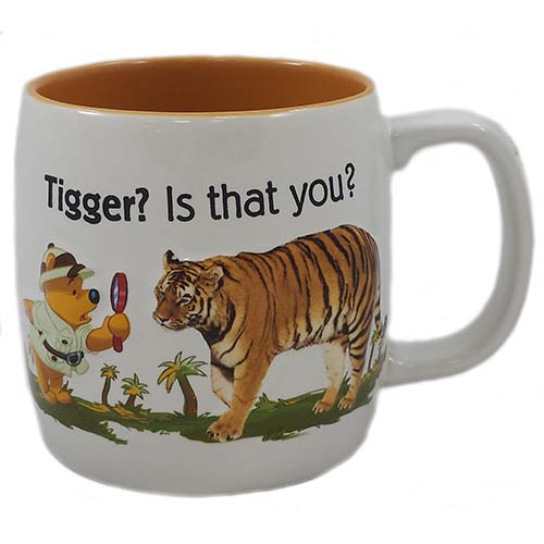Disney Coffee Cup Tigger Is That You Winnie The Pooh