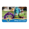 Disney Collectible Gift Card - Monsters University College Adventures