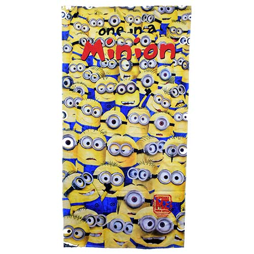 your wdw store - universal studios beach towel - despicable me