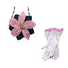 Disney Costume - Princess Gloves and Purse Set - Anna of Arendelle
