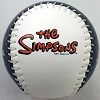 Universal Collectible Baseball - The Simpsons - Springfield Isotopes