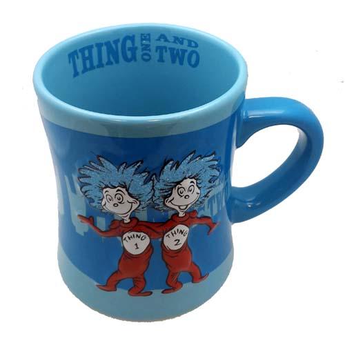 Universal Coffee Cup Mug Dr Seuss Thing 1 And 2