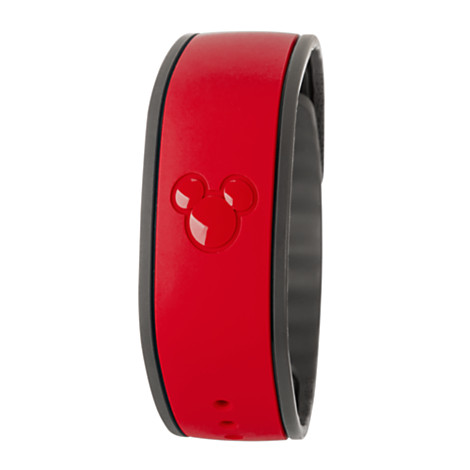 Your Wdw Store Disney Magicband Bracelet Solid Color Red