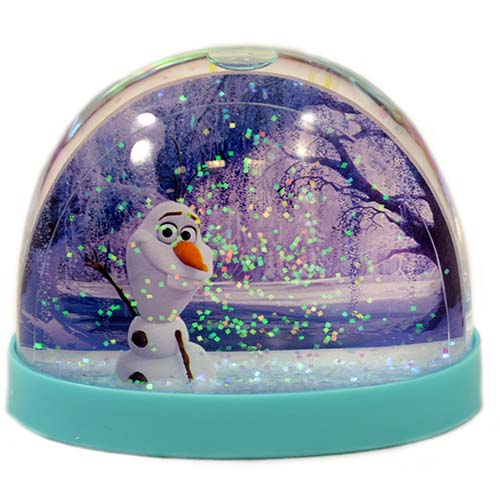 Disney Snow Globe Frozen Anna Elsa And Olaf Water Dome