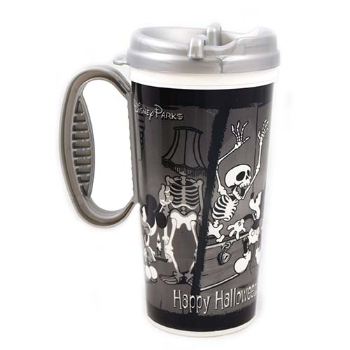 Disney Thermal Travel Mug Cup Happy Halloween Mickey Mouse