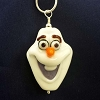 Disney Arribas Necklace - Silver with Glass Pendant - Frozen Olaf