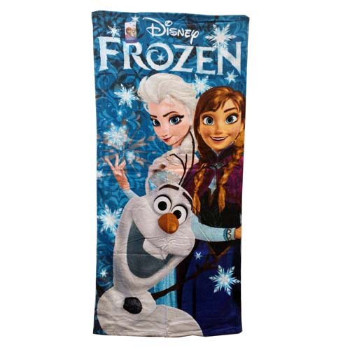 Disney Beach Towel - Frozen Trio