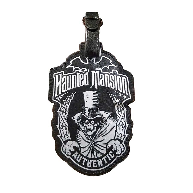 Disney Luggage Bag Tag - Haunted Mansion Authentic