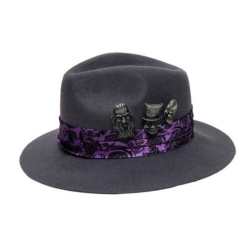 02ae65e87 Disney Hat - Haunted Mansion Authentic - Hitchhiking Ghosts Fedora