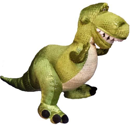 Disney Plush Doll Toy Story Rex The Tyrannosaurus Rex