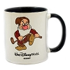 Disney Coffee Cup Mug - Golfing Grumpy - Black and White