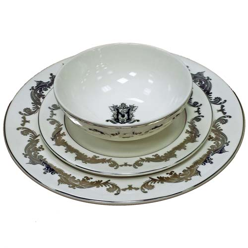 Add to Wish List  sc 1 st  Your WDW Store & Disney Dinner Plate - Haunted Mansion - Master Gracey Crest