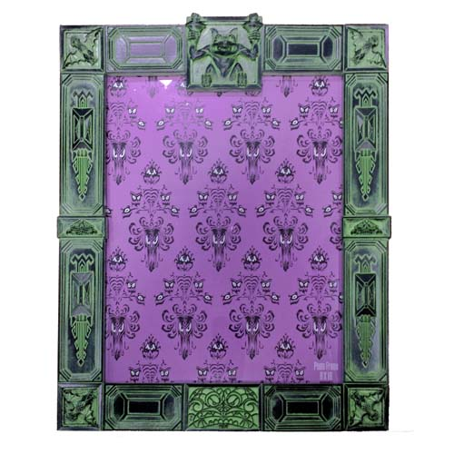 disney picture frame haunted mansion authentic 8 x 11. Black Bedroom Furniture Sets. Home Design Ideas