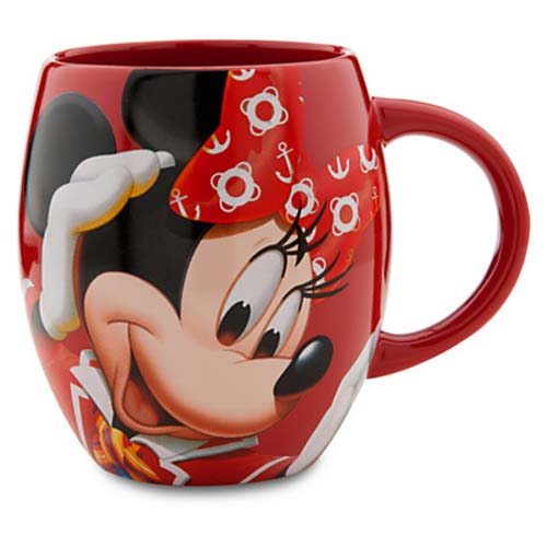 disney coffee cup mug disney cruise line minnie mouse. Black Bedroom Furniture Sets. Home Design Ideas