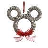 Disney Christmas Ornament - Mickey Icon Wreath Spaceship Earth Epcot