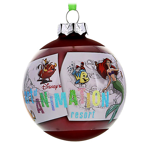 Disney Christmas Decorations.Disney Christmas Ornament Art Of Animation Resort Ball