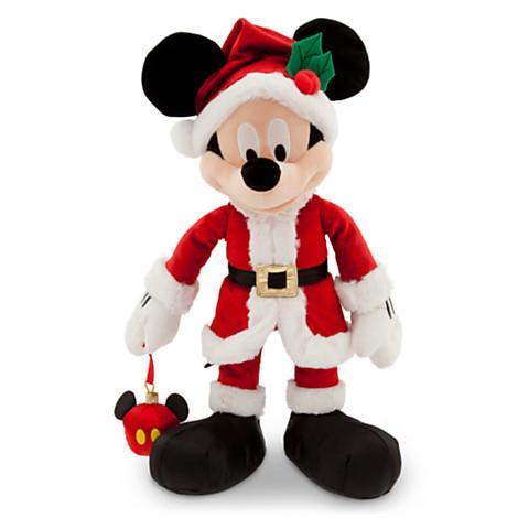 Your Wdw Store Disney Plush 2014 Santa Mickey Mouse