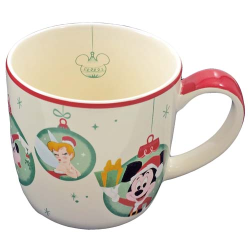 Disney Coffee Cup - Retro Mickey Mouse - Happy Holidays