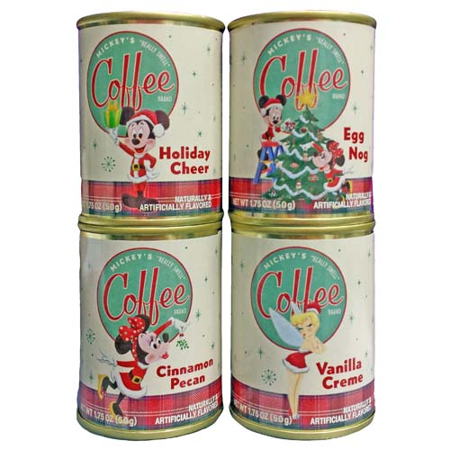 Disney Mickey Mouse's Really Swell Retro - Holiday Coffee 4 Pc Set