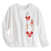 Disney Womens Shirt - Mickey Ornaments