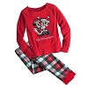 Disney Child Girls Pajamas - Santa Mickey and Minnie