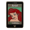 Disney Hidden Mickey Pin - 2014 B Series - Cell Phones - Ariel