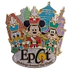 Disney Holidays Around The World Pin - 2014 Nutcracker Mickey & Pals