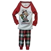 Disney Boys Holiday Pajamas - Christmas Santa Mickey