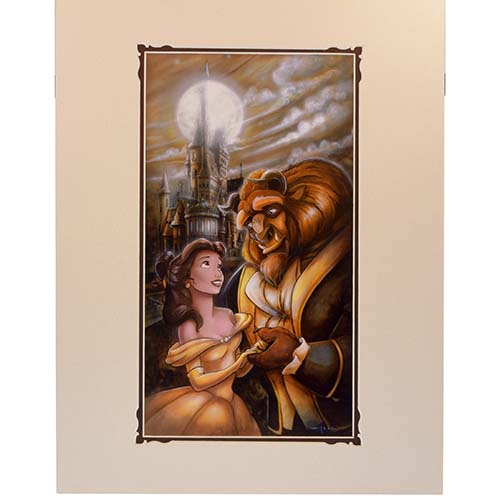 Disney Deluxe Artist Print - Beauty and the Beast by Darren Wilson