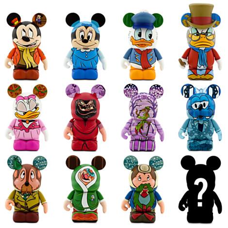 Disney Vinylmation Figure Mickey S Christmas Carol