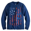 Disney Adult Shirt - Mickey Mouse Americana Long Sleeve