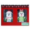 Disney vinylmation Figure Set - 2014 Holiday Snowman Mickey Minnie