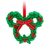 Disney Christmas Ornament - Mickey Icon Wreath Fabric