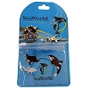 SeaWorld Lanyard Pouch with Pin - 50th Anniversary Celebration