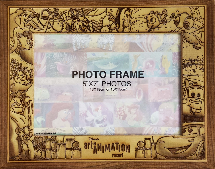 Disney Picture Frame - 5 X 7 - Art of Animation