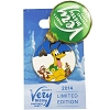 Disney Very Merry Christmas Party Pin - 2014 - Pluto,  Chip & Dale