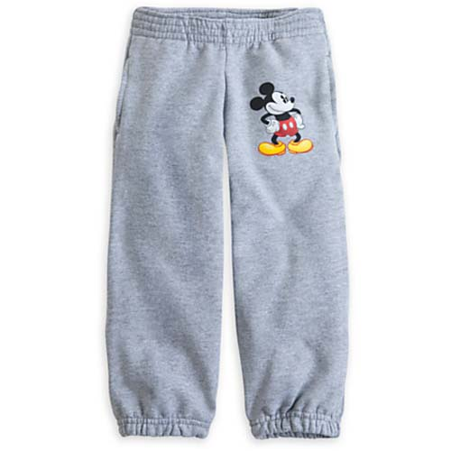 Your Wdw Store Disney Child Pants Mickey Mouse Sweatpants