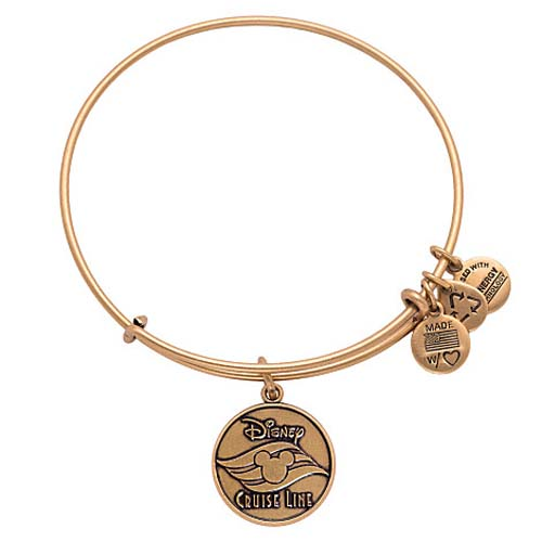 Disney Alex and Ani Bracelet - Disney Cruise Line - Gold